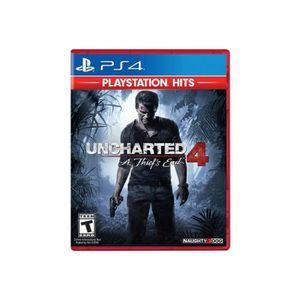 JEU PS4 Uncharted PlayStation Hits PlayStation 4
