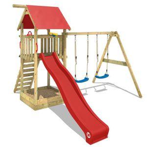 STATION DE JEUX Aire de jeux WICKEY Smart Empire Portique en bois