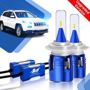 PHARES - OPTIQUES H7 LED Ampoules Phare Feux de croisement/route/Bro