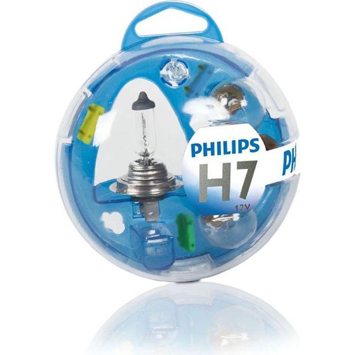 PHILIPS Coffret de lampes H7