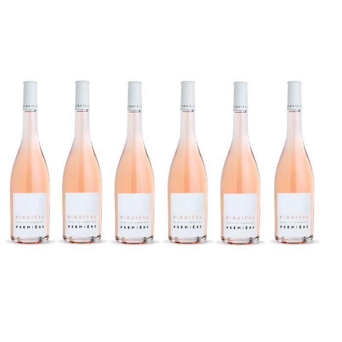 VIN ROSÉ Lot de 6 Domaine Figuière cuvée Première rosé Bio
