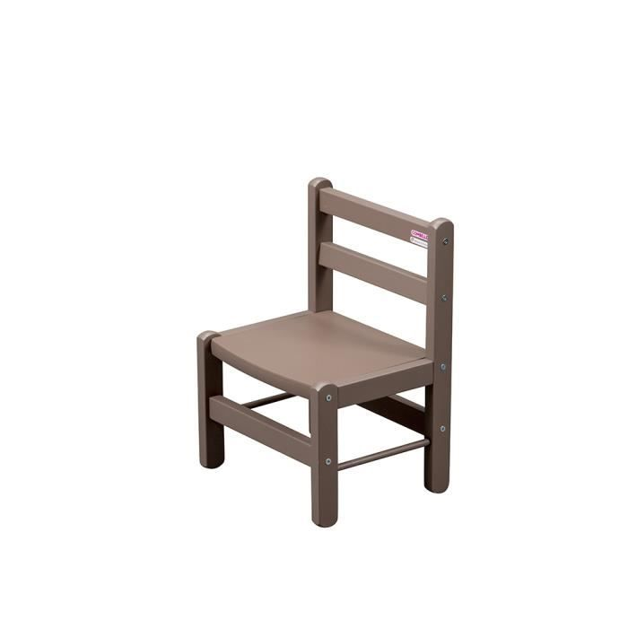 Mini Chaise Basse Chambre Dco Enfant Taupe Dcorative
