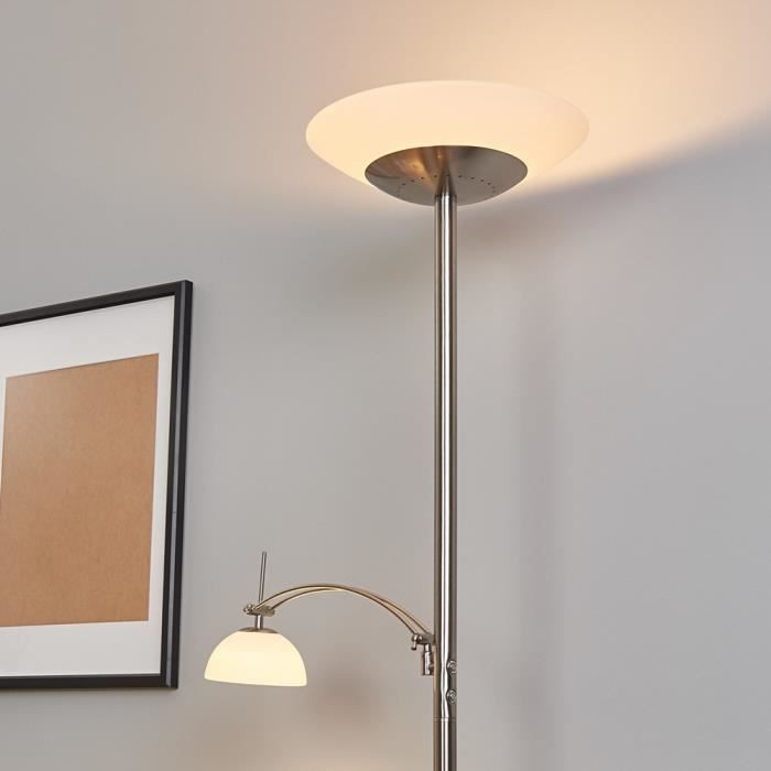 lampadaire a eclairage indirect led