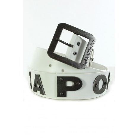 Ceinture Kaporal Homme BOLD BLANC Blanc - Achat   Vente ceinture et ... c91ab96c325