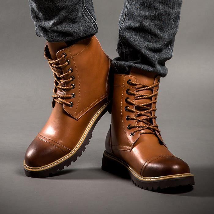 Mode Martin Bottes Hommes Femmes Sport Tenir Chaussures chaudes rKrUMz