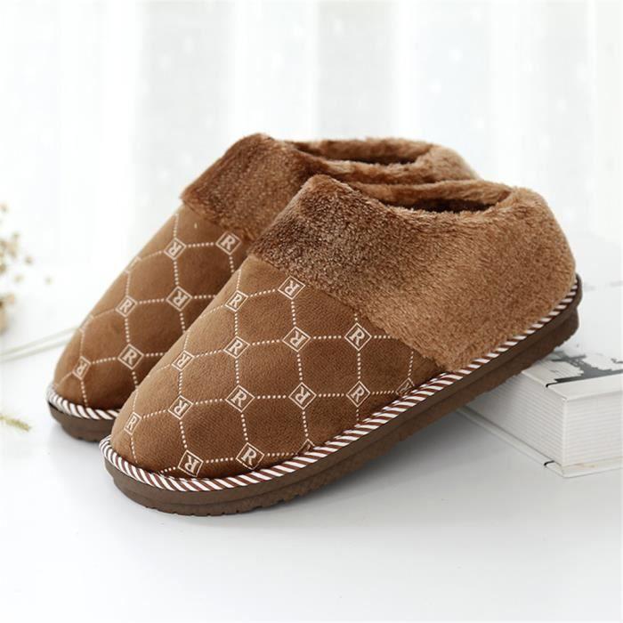 gamme hommes confortable un de luxe chaleureuse pour Haut qualité et de le lumière chaussures maison velours avec luxe traîne plaid xBqnR