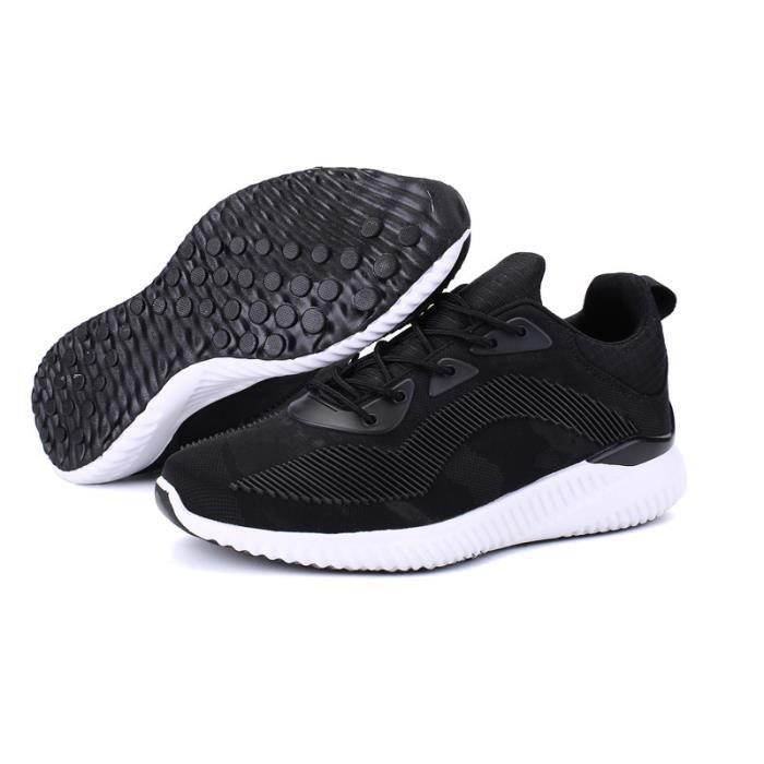 Baskets Homme Chaussure été et hiver Jogging Sport léger Respirant Chaussures BBJ-XZ220Noir44 oqRi9P