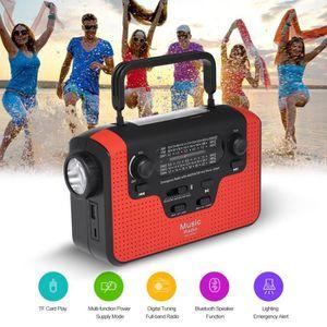 LECTEUR MP3 RD388 Énergie Solaire Radio BT Enceinte MP3 Lecteu