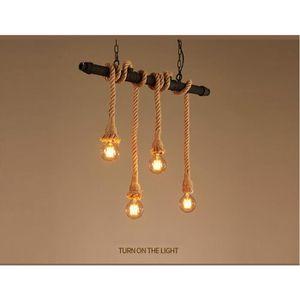 LUSTRE ET SUSPENSION Vintage Style Rustique Luminaire Rétro Lampe Suspe