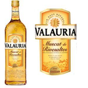 Apéritif à base de vin Muscat de Rivesaltes 1L Valauria