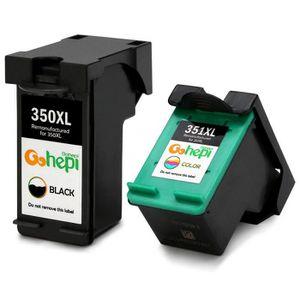 CARTOUCHE IMPRIMANTE CARTOUCHE D ENCRE HP 350 351 XL pour HP Photosmart