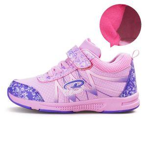 JOZSI Basket Enfant hiver Sport Plus cachemire Ultra léger Chaussure ZX-XZ211Violet34-2 pJR7r1g