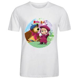 CHEMISE DE SPORT Homme MASHA ET MICHKA Tee Shirts - Blouse Coton T