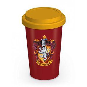 BOL - MUG - MAZAGRAN Mug de voyage Harry Potter - Ecusson de Gryffondor