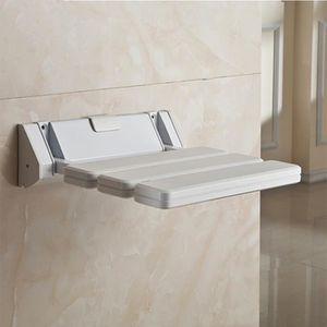 ASSISE BAIN - DOUCHE  Tabouret de bain mural siège de douche pliable 32*