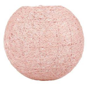 LUSTRE ET SUSPENSION SEMA Lustre - Suspension Boule Rose - D30cm