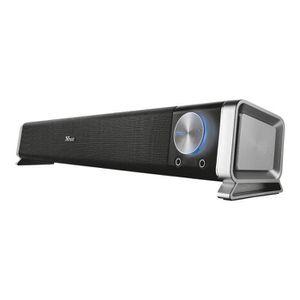 ENCEINTES ORDINATEUR Trust Asto Système de barre audio pour PC 20 Watt