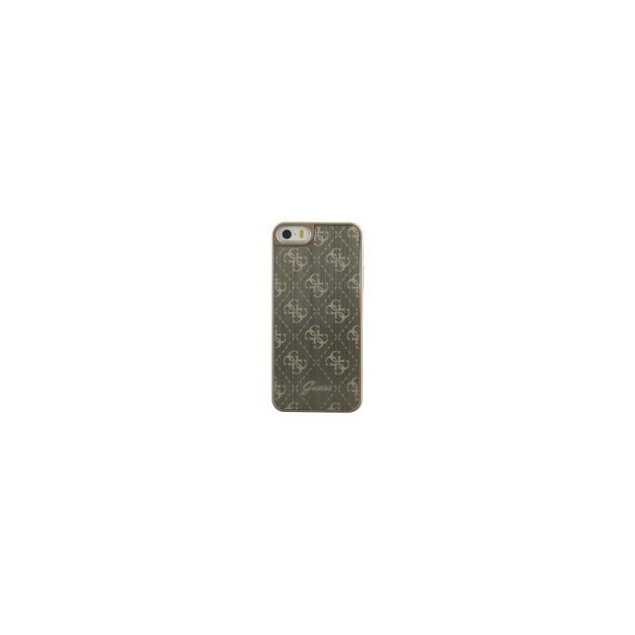 GUESS Coque en aluminium - Pour iPhone 5S / SE