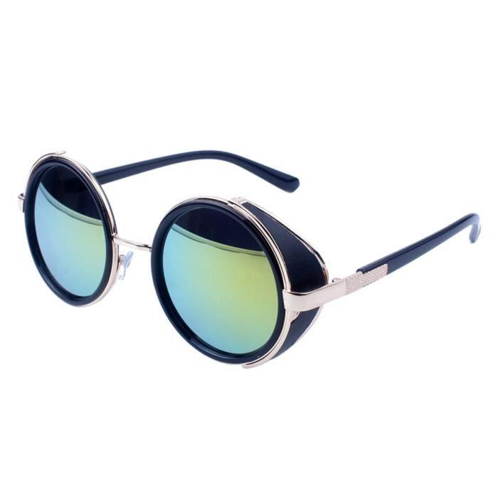 miroir de lunettes Les voyage en aviateur de vintage dor mode mode mercure or thé Le hommes soleil rétro unisexe femmes lunettes xCxqBOvw