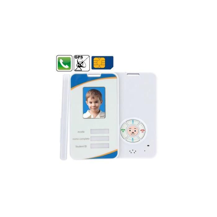 KIT TRAÇEUR DE FUITE traceur GPS enfant, pré règle 4 numéro de téléphon