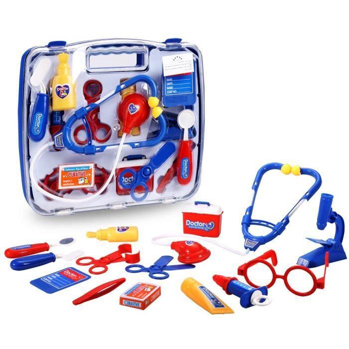 enfants jouets ducatifs kit m decin infirmi re m dicale kit jeu jeu jouet pour les enfants. Black Bedroom Furniture Sets. Home Design Ideas