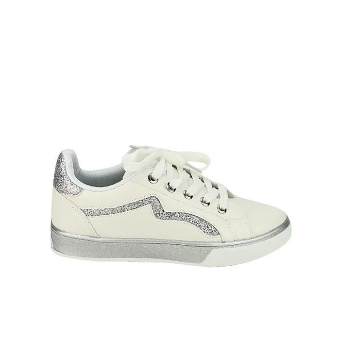 low priced 2d7f0 3a78b basket, Baskets Blanc Chaussures Femme, Cendriyon