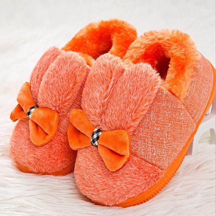 Chaussures OrangeHM Bébé Semelle Souple Neige Caoutchouc BOTTE Bottes Berceau Petits Laine Doux Bottes Bowknot de Tout IPBwwdxZ