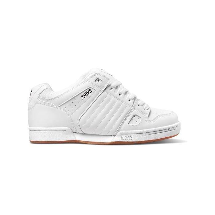 Chaussure DVS Celsius Blanc Blanc Leather hsbVTP