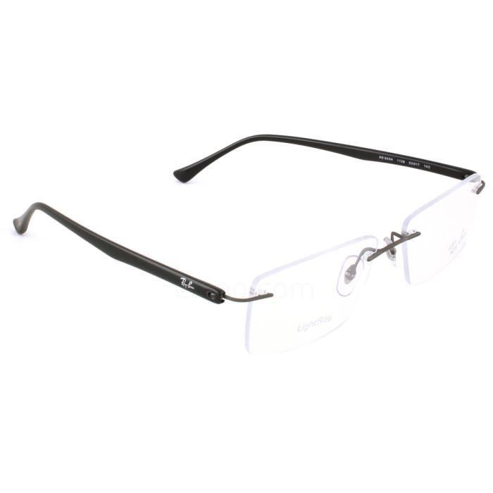 832e9dede03459 Ray Ban 8694 Noir Taille   55 Noir, titane - Achat   Vente lunettes ...