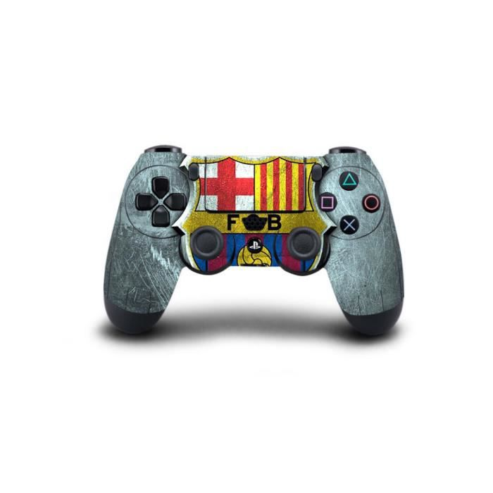 vip2store ps4 skin barca autocollant pour manettes ps4 prix pas cher cdiscount. Black Bedroom Furniture Sets. Home Design Ideas