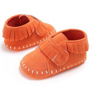 Orange-Nouveau Chaussures de bébé en bas âge Fond mou Loisirs Chaussures de toile Convient pour bébé de 0 à 1 an PFKkErkSYb