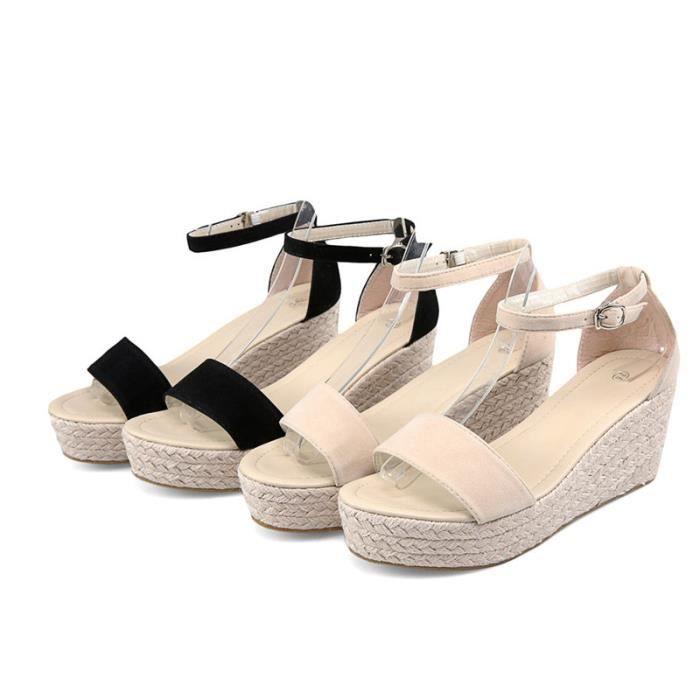 Des sandalesEspadrille Les Chaussures pour Femmes Des talons compensés