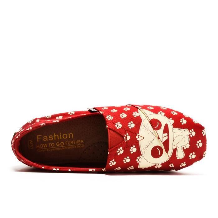 Toile Slip-on Tonique chaussures de marche espadrille FSF4Y Taille-37
