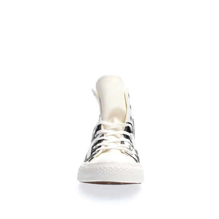 CONVERSE SNEAKERS Unisexe WHITE BLACK, 41,5
