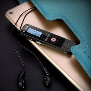 ENREGISTR. CONVERSATION Enregistreur vocal numérique or, 8 Go 384Kbps Audi
