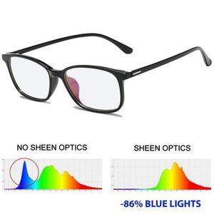 LUNETTES LUMIERE BLEUE  anti lumière bleue blocage UV lunettes [Lentille