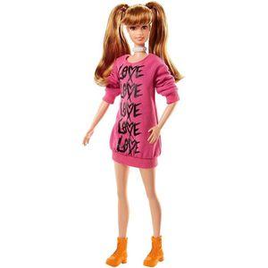 POUPÉE Barbie Fashionistas poupée mannequin #79 aux cheve
