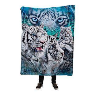 Couverture tigre achat vente pas cher - Tigre polaire ...