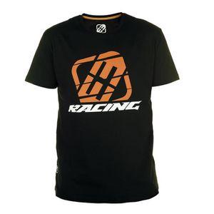 T-SHIRT FREEGUN T-shirt Homme Racing - Noir / Orange