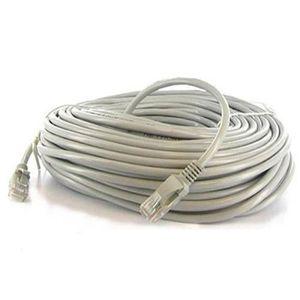 CÂBLE RÉSEAU  Câble reseau ethernet RJ45 droit F/UTP CAT.6 50m g