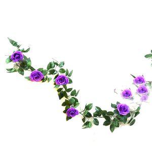 Fleur artificielle violet achat vente fleur artificielle violet pas cher soldes d s le 10 - Image fleur violette gratuite ...
