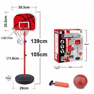 PANIER DE BASKET-BALL Panier de Basket sur pied enfant+Ballon Jeu jouet