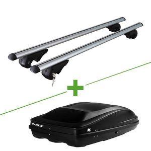BARRES DE TOIT Pack barres et coffre de toit MBO Fury XL + Wabb M