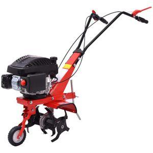 MOTOBINEUSE Motobineuse à essence 5 CV 2,8 kW rouge