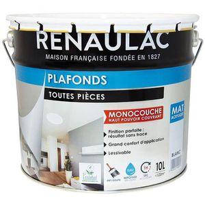 PEINTURE - VERNIS RENAULAC Peinture intérieur Plafonds Acrylique Bla