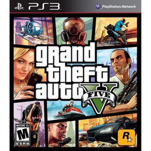 JEU PS3 GTA 5 JEU PLAYSTATION 3