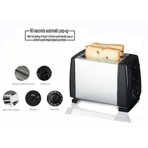 GRILLE-PAIN - TOASTER TEENO Grille Pain Automatique Toaster Chaufage pai