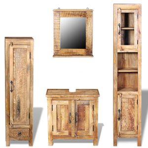 Meuble salle de bain vintage - Achat / Vente pas cher