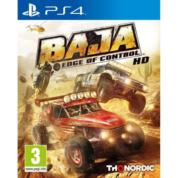 Baja: Edge of Control HD Jeu PS4