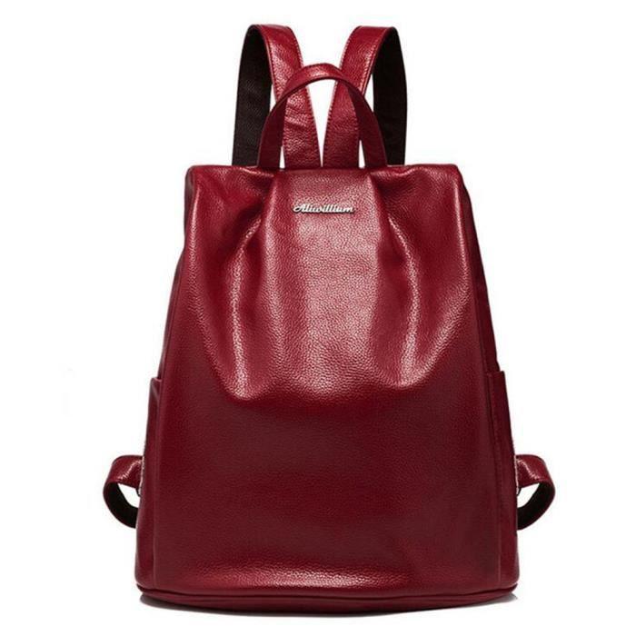 sac cuir rouge sac marque Classique Sac Femme De Classique En Cuir sac à main de marque pour femme sac cuir
